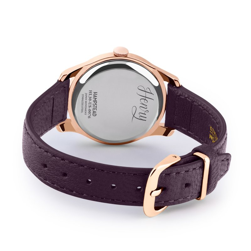 Montre Henry-London HAMPSTEAD (HL30-US-0076) pour FEMME 3