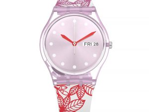 Montre Swatch SUMMER LEAVES GP702 pour FILLE