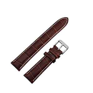 Zeiger Bracelet en Cuir pour Montre Homme – Marron 20mm – Outil de Reparation Spring Bars