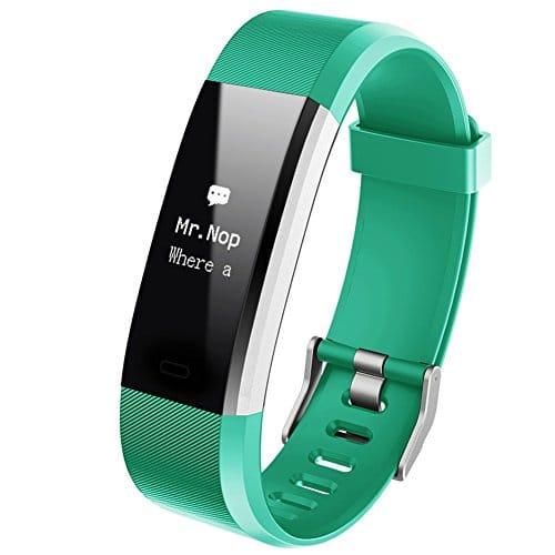 HOTSO Montre Connectée, Grand Ecran Tactil IP67 Imperméable – Montre Cardio Bluetooth 4.0 Suivi GPS Compteur de Pas, Calories, Distance, Sédentaire, Moniteur de Sommeil pour Android iOS