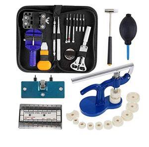 Kit Réparation Montre Outils Professionnel – 409pcs Pour Montre Ensemble Lien Ouvrir Ajuster Arrière Outils professionnels pour Montre