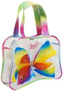 Jojo Siwa Jjs-8583en Forme de nœud Sac fourre-Tout, Multicolore