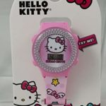 Hello Kitty Girl's Pink Digital Light Up Watch
