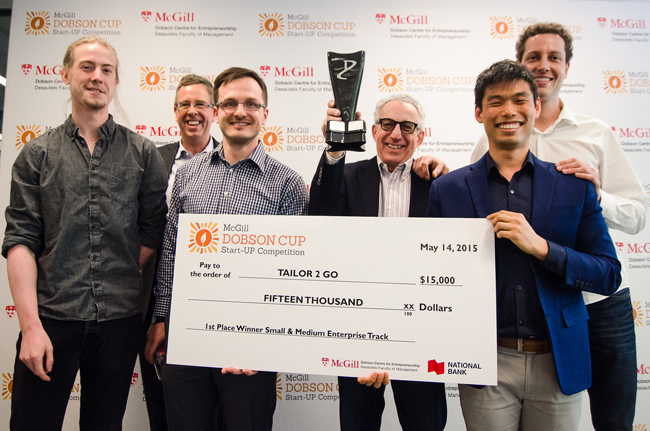 Deadline approaches for $100,000 McGill Dobson Cup submissions