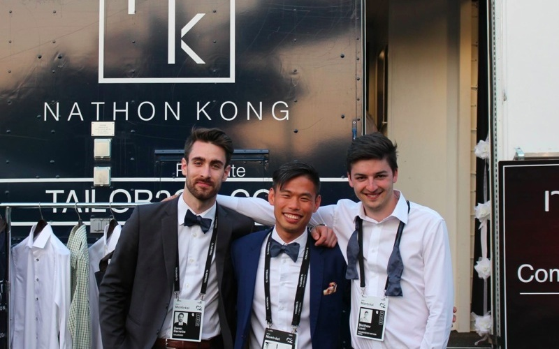 Tech and 3D bespoke tailoring like no mobile fashion truck before