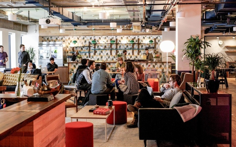 Shopify is offering 3 months free office space at WeWork
