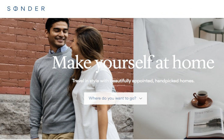 Flatbook rebrands as 'Sonder,' lands $10 million investment