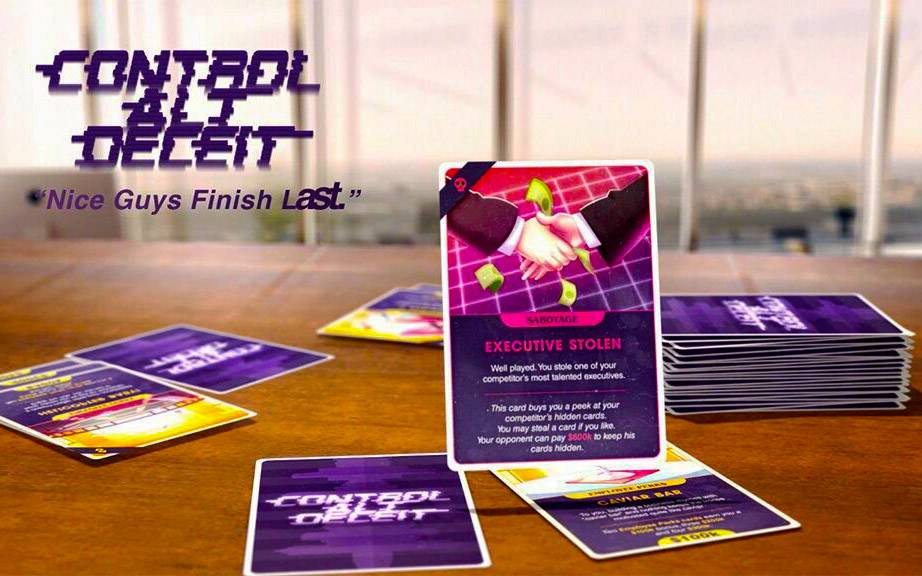 Nice guys finish last? New startup game 'Control Alt Deceit' finds out