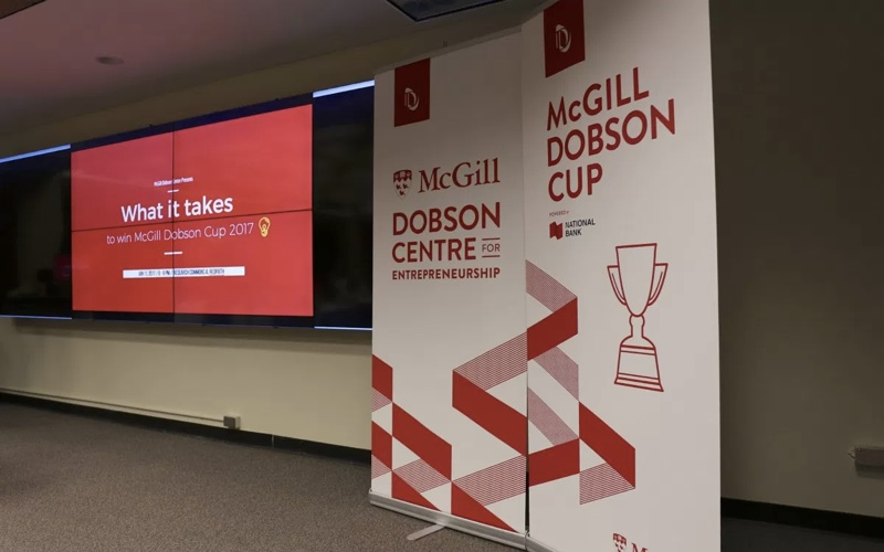 The 40 student startups named to McGill's Dobson Cup finals