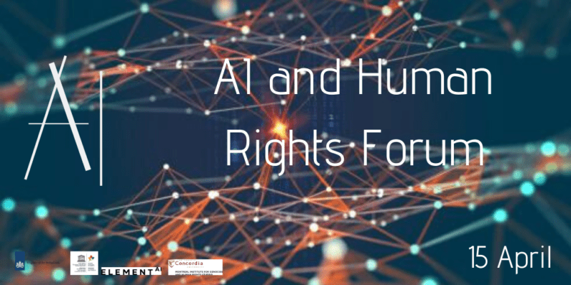 MIGS to Hold Second Annual Forum on AI & Human Rights