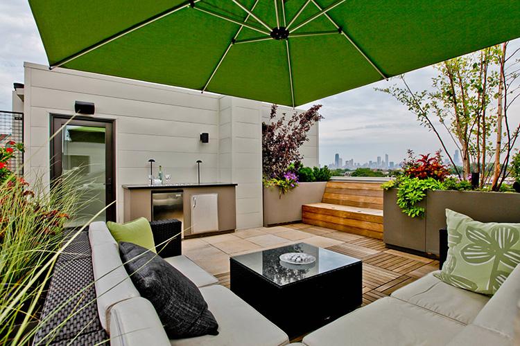 Terrasse Moderne Montreal Outdoor Living