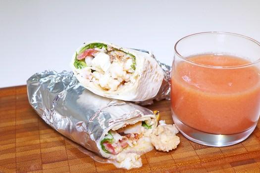 Durum kebab de pescado