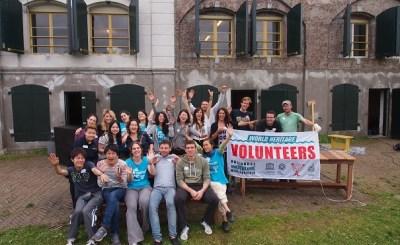 UNESCO-vrijwilligers zetten zich in voor waterlinies