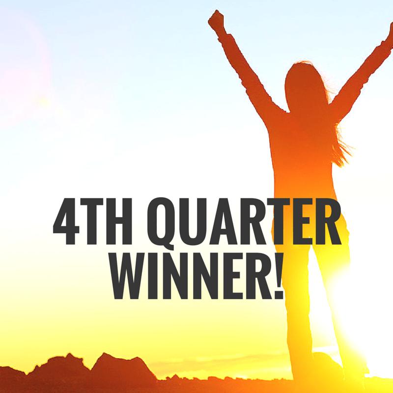 4th Quarter Winner