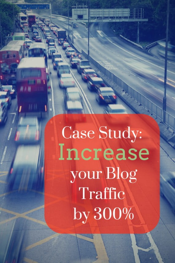 Case Study Increase Traffic by 300%