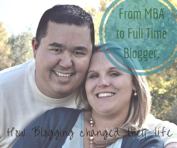 From MBA to Full Time Blogger