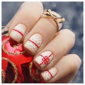 les 10 plus beaux nail art de noel a