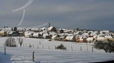 Monzelfeld im Winter