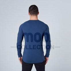 LIFESTYLE LONG SLEEVE - BLUE