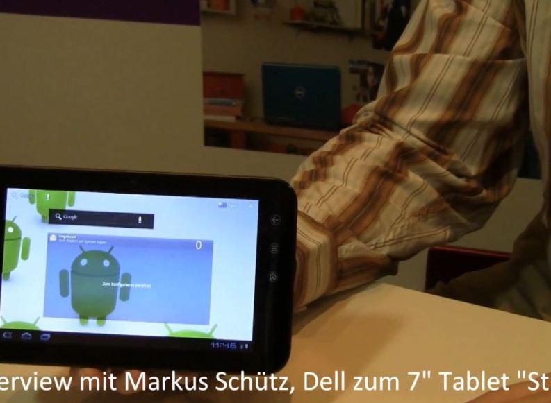 [Video] IFA11: Vorstellung des Dell Streak 7 mit Android 3.2