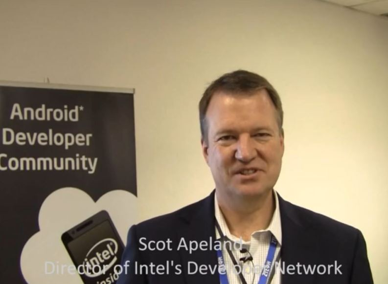 [Video] MWC12: Interview mit Scot Apeland, Director of Intel's Developer Network