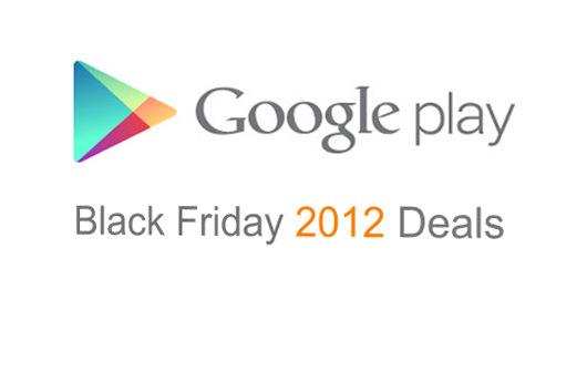 Black Friday bei Google Play