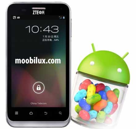 ZTE beginnt mit Android 4.2 Auslieferung