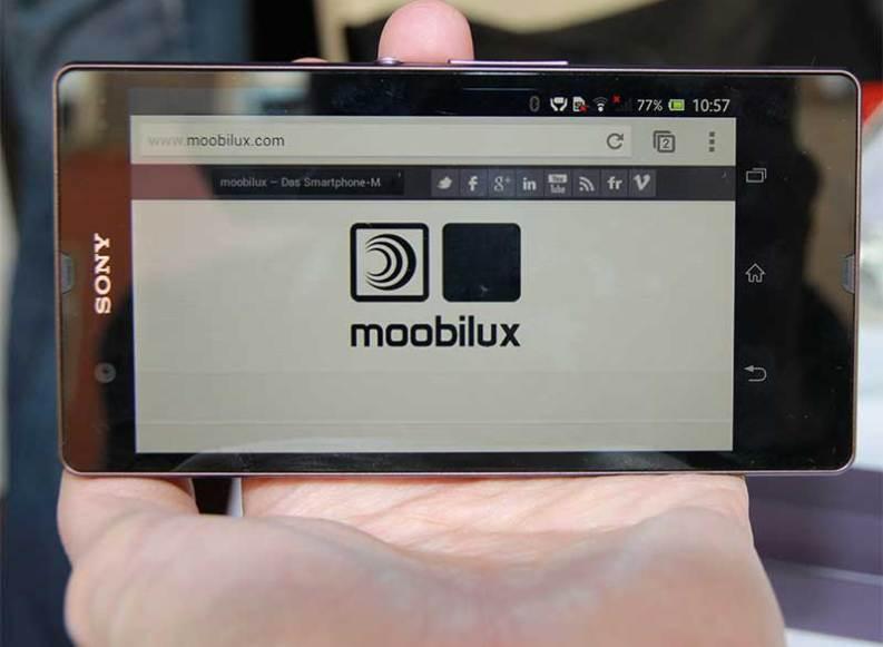 CES: Sony Mobile stellt Xperia Z vor