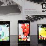 LG stellt zum MWC13 die seine neue L-Serie vor. (Foto: LG)
