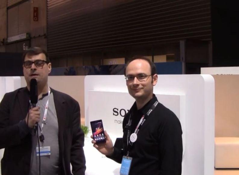 [Video] MWC13: Vorstellung des Sony Xperia Z