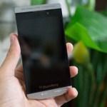 Sieht so das Blackberry P'9982 aus? (Foto: tinhte.vn)