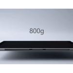 Das Surface Pro 3 wiegt nur noch 800 Gramm.