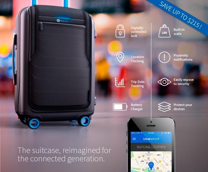 Bluesmart der Koffer für TravelGeeks