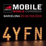 4YFN at the Mobil World Congress 2016 in Barcelona. (Foto: moobilux.com)
