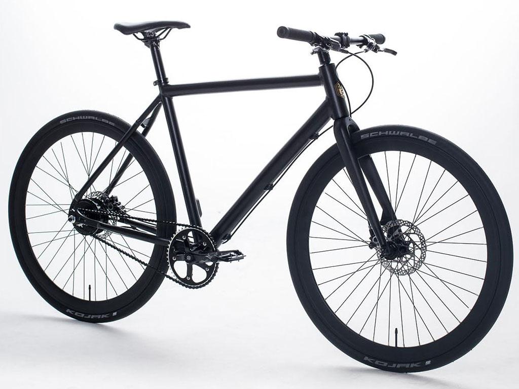 Das Ampler Bike hat den Akku fest im Rahmen verbaut und sieht wie ein normales Fahrrad aus. (Foto: Ampler Bikes)