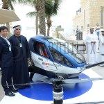 Mit der Ehang 184 soll in Dubai das erste autonome Drohnentaxi starten.