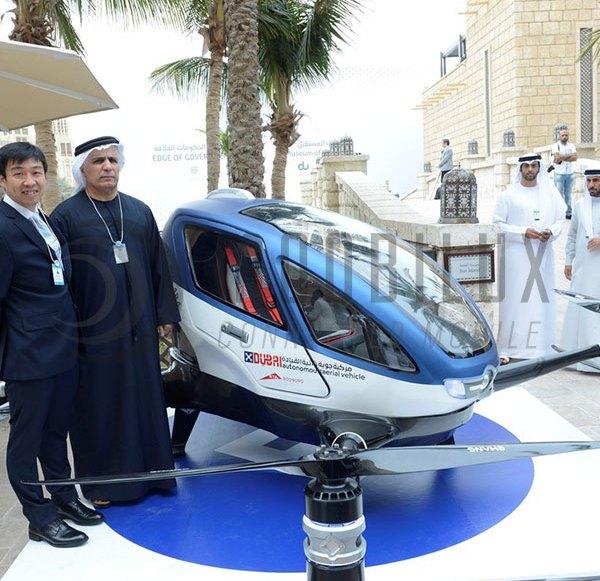 Dubai startet demnächst erstes fliegendes Drohnen-Taxi