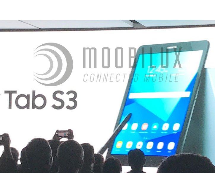 MWC17: Samsung stellt Galaxy Tab S3 vor