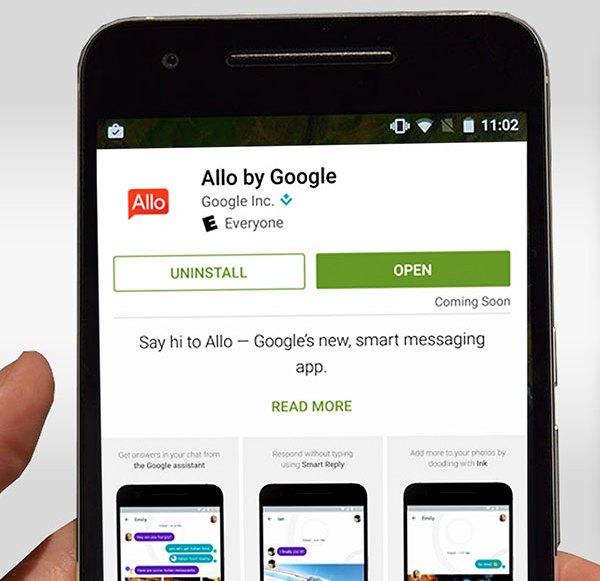 """Peinliche Panne bei Googles Messenger-App """"Allo"""""""