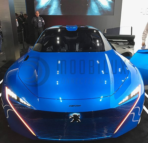 "MWC17: World premiere of the Peugeot ""Instinct"" self-driving car concept (Video)"