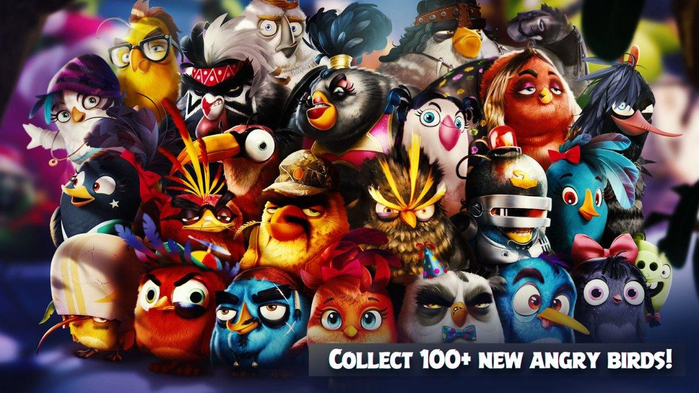 Neue Angry Birds Version für Android & IOS erschienen. (Bild: Rovio)
