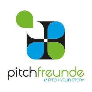 """Das farblich leicht veränderte, Neue pitchfreunde-Logo und der Neue Claim """"Pitch your story"""" soll den Änderungen Rechnung tragen."""