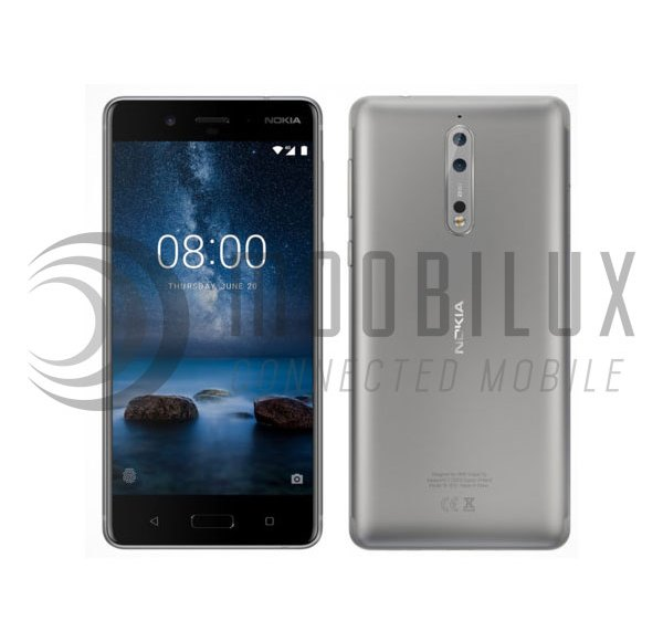 Is the Nokia 8 introduced today?