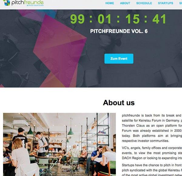 pitchfreunde Relaunch in Berlin