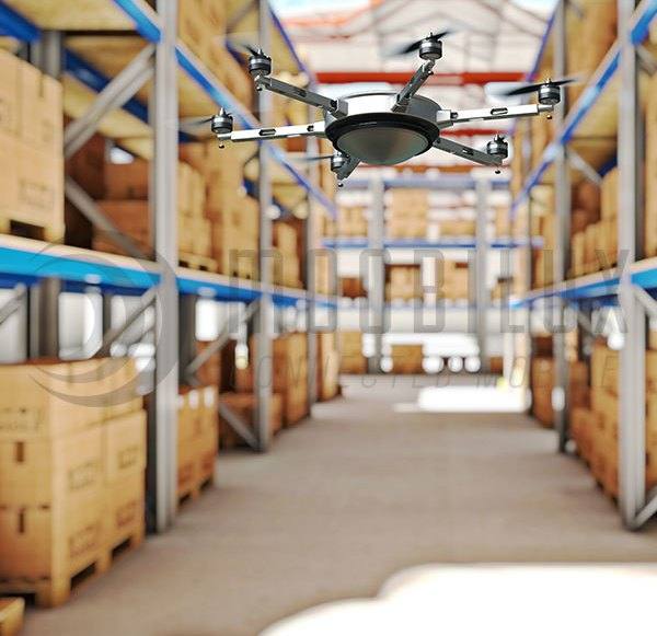In future, the RFID drone will be inventory