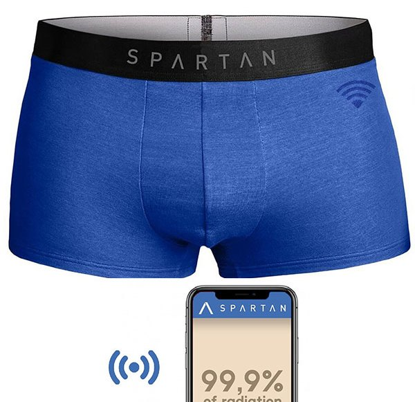 Protective underpants for the man