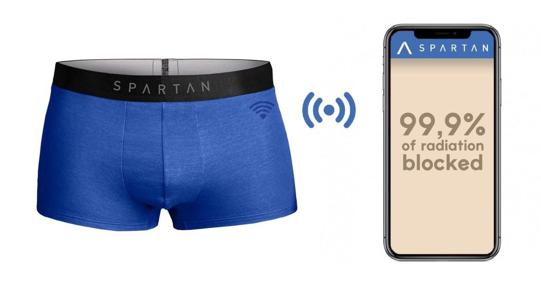 Schützende Unterhose für den Mann. (Bild: Spartan)