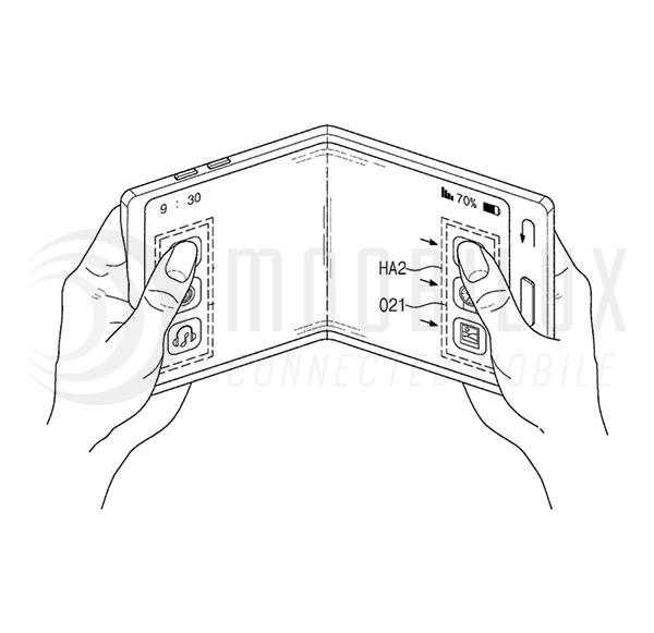 Samsung meldet Patent für faltbare Smartphone Bildschirm an