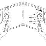 Samsung meldet Patente für faltbare Bildschirme an.