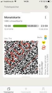 Die Fahrkarte in der BVG-Ticket App. (Bild: moobilux.com)